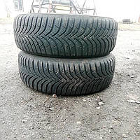 ШИНЫ б/у 2шт 175/65 R14 7мм 17год зима Hankook China 00383 Диски и резина