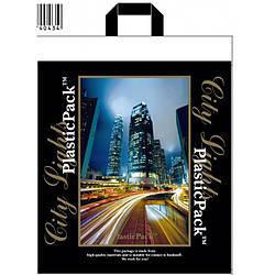 Полиэтиленовый пакет с петлевой ручкой ''Город'' 470*490, 10 шт