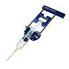 Держатель шприца многоразового использования для лучшей игольной аспирации