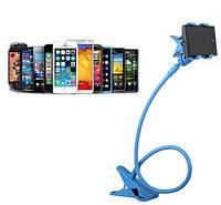 Гибкий Холдер штатив для телефона ALISTOR V90  синий  80см