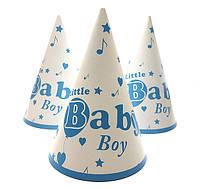 """Ковпак святковий 15 см, """"Baby Boy"""""""