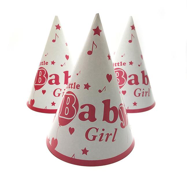 """Колпак праздничный 15 см, """"Baby Girl"""""""