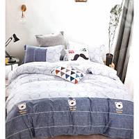 Евро размер комлекты постельного белья. Комлекти  постели для дома.Качество и комфорт.