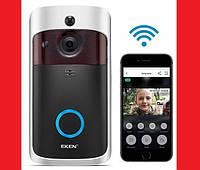 Eken V5 Smart WiFi Doorbell Умный дверной звонок с камерой Wi-Fi, фото 1