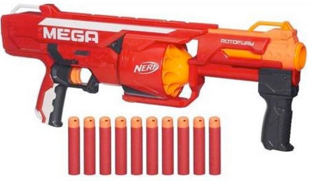 Бластер Ротофьюри NERF N-Strike Mega Series RotoFury Blaster