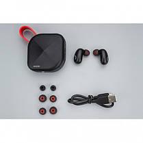 Whizzer B6 Red TWS Спортивные Наушники Гарнитура Bluetooth, фото 3