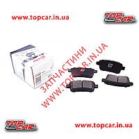Тормозные колодки задние Renault Megane III  Solgy 209077