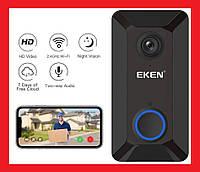 Eken V6 Smart WiFi Doorbell Умный дверной звонок с камерой Wi-Fi, фото 1