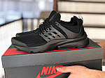 Мужские кроссовки Presto (черные) 8961, фото 2