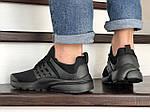 Мужские кроссовки Presto (черные) 8961, фото 6