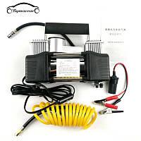 Автомобильный Компрессор насос от прикуривателя BLACK BOX 2m (DOUBLE BAR KIT TOOLBOX) + подарок