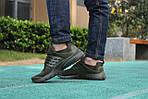 Мужские кроссовки Presto (темно-зеленые) 8963, фото 2