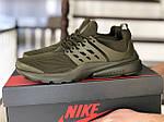 Мужские кроссовки Presto (темно-зеленые) 8963, фото 3