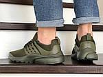 Мужские кроссовки Presto (темно-зеленые) 8963, фото 4