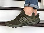 Мужские кроссовки Presto (темно-зеленые) 8963, фото 6
