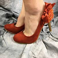 Жіночі туфлі CAMENGSI DO16-2 червоні 35