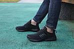 Чоловічі кросівки Presto (чорні) 8966, фото 2