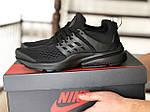 Чоловічі кросівки Presto (чорні) 8966, фото 4