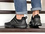 Чоловічі кросівки Presto (чорні) 8966, фото 5