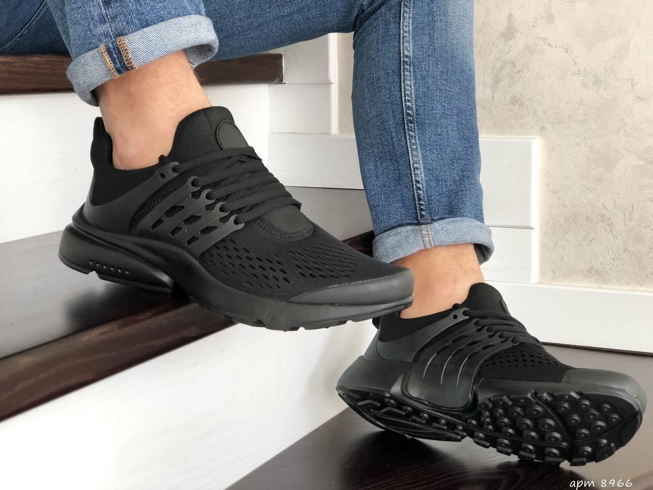 Чоловічі кросівки Presto (чорні) 8966