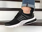 Чоловічі кросівки Presto (чорно-білий) 8967, фото 3