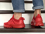 Мужские кроссовки Presto (красные) 8968, фото 5