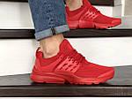 Мужские кроссовки Presto (красные) 8968, фото 6