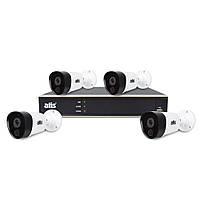 ATIS kit 4ext 2MP комплект FullHD видеонаблюдения на 4 уличные видеокамеры