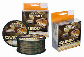 Леска Energofish Carp Expert Camou 600м, Ø0,25мм, 8,6кг