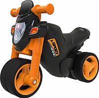 Детский мотоцикл каталка Спортивный стиль Big 56361 ролоцикл + накладки на обувь (дитячий мотоцикл)