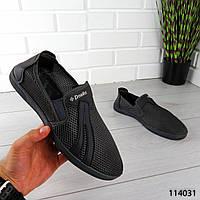 """Мокасины мужские, серые """"Kgace"""" текстильные, туфли мужские, повседневная, удобная, весенняя, мужская обувь"""