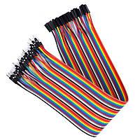Провода Dupont 30 см. 40 шт. папа-мама, кабель Дюпон для Arduino, макетных плат и монтажа.