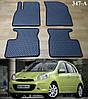 Коврики на Nissan Micra К13 '10-17. Автоковрики EVA