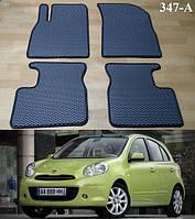 Коврики на Nissan Micra К13 '10-17. Автоковрики EVA, фото 1