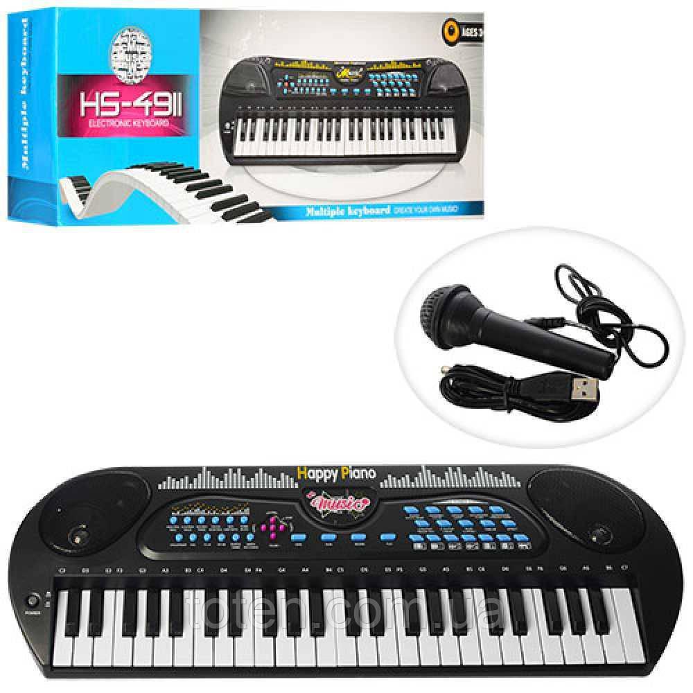 Синтезатор HS4931 49клавиш, мікрофон, USB 1613