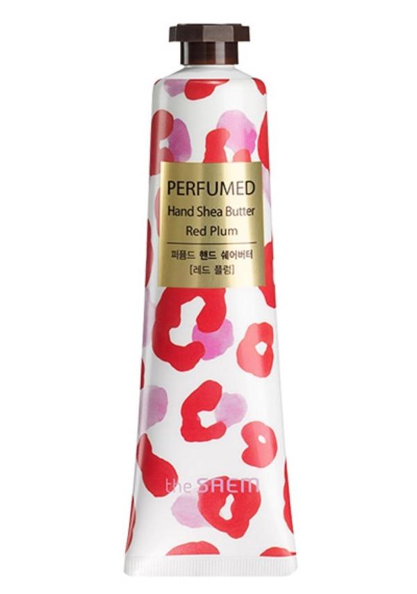 Крем для рук The Saem Perfumed Hand Shea Butter Red Plum