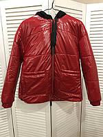 Лаковая весенняя куртка для беременных женщин 42-50 р