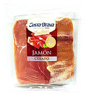 Хамон нарізка Costa Brava, Jamon CURADO без глютену 500г Іспанія