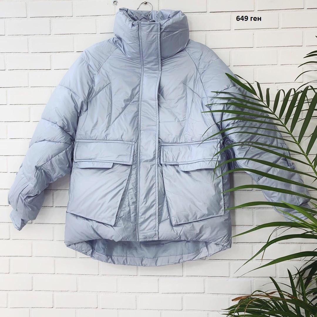 Короткая женская куртка 649 ген Л-42,ХЛ-44,ХХЛ-46р.