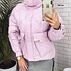 Короткая женская куртка 649 ген Л-42,ХЛ-44,ХХЛ-46р., фото 4