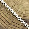 Серебряный браслет Венеция длина 19 см ширина 5 мм вес серебра 7.9 г, фото 2