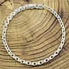 Серебряный браслет Венеция длина 19 см ширина 5 мм вес серебра 7.9 г, фото 3