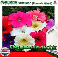 Петуния крупноцветковая Виртуоз Formula Mixed, 1000 семян, ТМ KITANO SEEDS (Голландия), фото 1