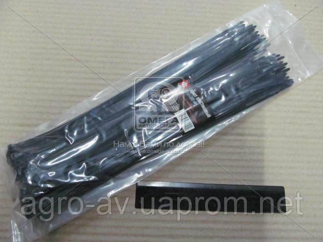 Хомут пластиковый (DK22-3.6х300BK) 3.6х300мм. черный 100шт./уп. <ДК>