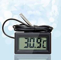 Термометр цифровой с выносным датчикомтемпературы DC 1