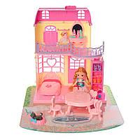 Игровой набор Dream Hause587Домик складной с мебелью и куклами
