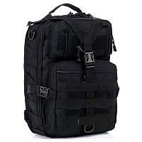 Чорний тактичний портфель 50 літрів 3D Military Tactical BackPack TAN 8FIELDS (NB-03-T), фото 1