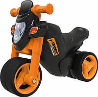 Дитячий мотоцикл каталка Спортивний стиль Big 56361 ролоцикл + накладки на взуття для дітей, фото 1