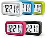Електронні годинник/будильник LED з розумною підсвічуванням і термометром