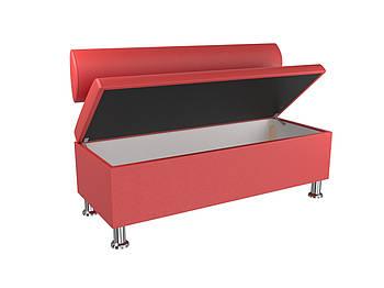 Диван BNB Флеш 1200x540x780 красный.